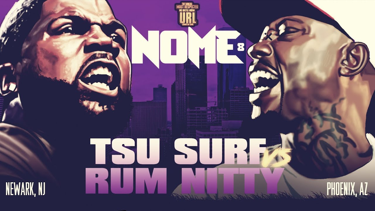 TSU SURF VS RUM NITTY SMACK/ URL RAP BATTLE |URLTV