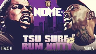 TSU SURF VS RUM NITTY SMACK/ URL RAP BATTLE |URLTV