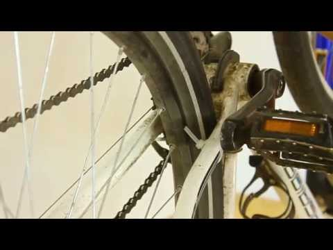 How to true a wheel part #2 - tensioning spokes, truing the wheel