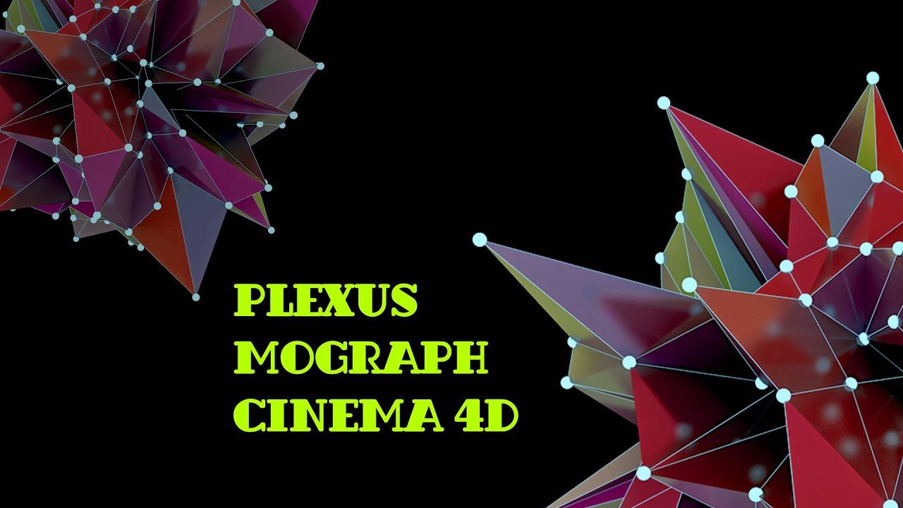 Cinema 4d Plexus Mograph - Самые лучшие видео