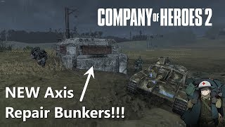 Company of Heroes 2: 4v4 General Mud with Axis Repair Bunkers!
