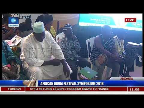 African Drum Festival Symposium 2018 Pt 3