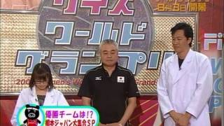 木村沙織選手(当時20歳)他、栗原選手、大山選手、菅山選手、竹下選手...