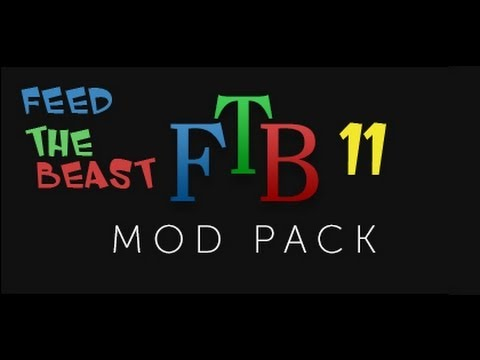 Minecraft Feed The Beast Ep.11: BIG OIL FOUNTAIN, RUBBER TREES