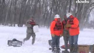 North Dakota Flood: Detonating Ice