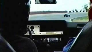 CosworthVega being blocked by a Porsche