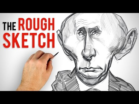 Enhancing The Likeness - Rough Sketch Caricature