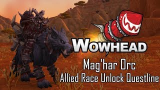 Mag'har Orc Allied Race Unlock Questline