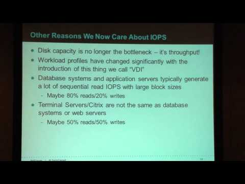 Why IOPS Suck and Everything You Know About Them is Probably Wrong! - BriForum 2013 Chicago