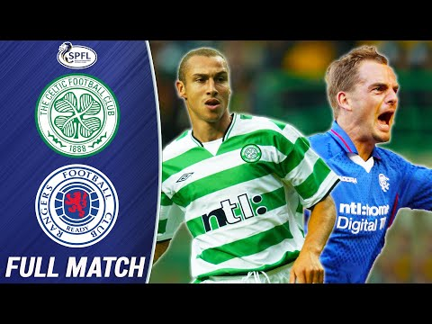 A 2002 Classic Old Firm Derby is being streamed on Youtube