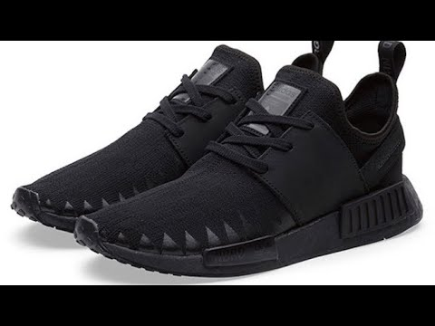 ADIDAS NMD R1 Blue | On-Feet - YouTube