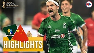 Ireland v China | Odisha Men's Hockey World Cup Bhubaneswar 2018 | HIGHLIGHTS