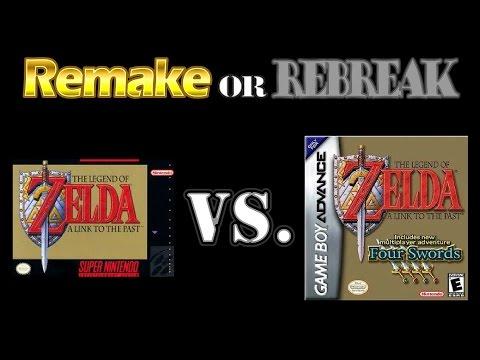 ROR: TLOZ A Link To The Past (SNES Vs  GBA & Four Swords)