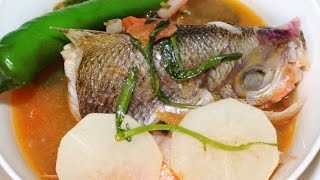 How To Cook Sinigang Sa Miso Recipe English Youtube