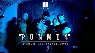 Club 4 (El Chojin, ZPU, Ambkor, Locus) - Ponme 4 (Vídeo Oficial)
