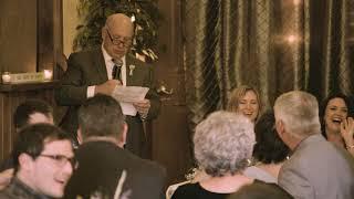 Craig's speech at Garin and Amy's wedding