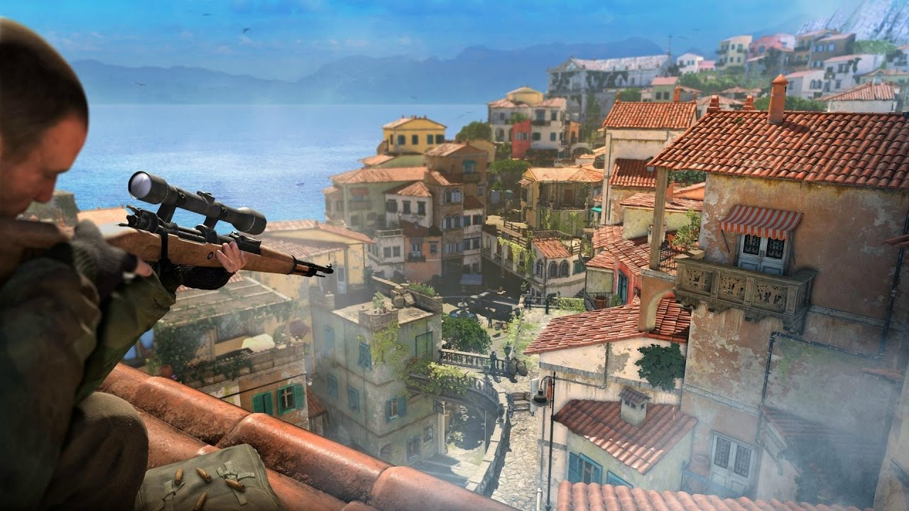 Sniper Elite 4: Capturing a Control Point in Multiplayer