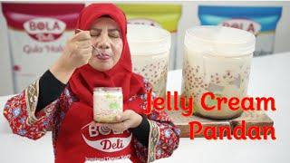 Jelly Cream Pandan II Mudah, #ENAKNYAJADIBEDA