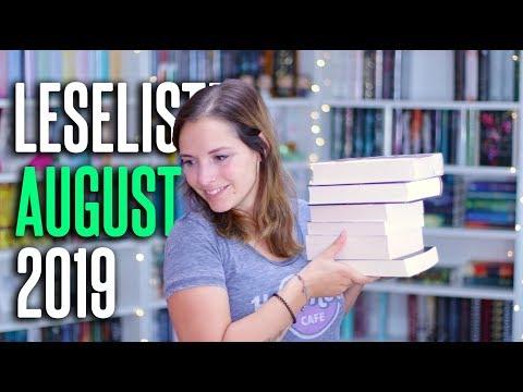 LESELISTE August 2019 | 6 Bücher im want to read | melodyofbooks