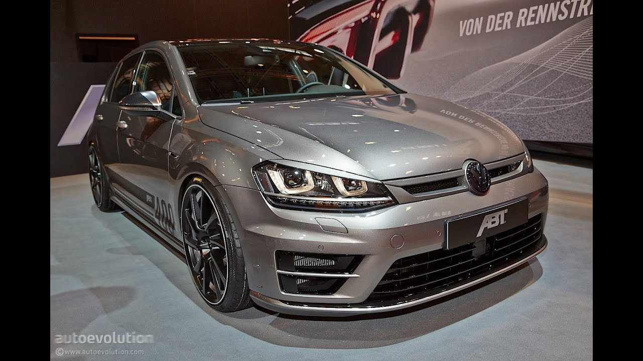 abt vw golf 7 r essen motor show 2014 youtube. Black Bedroom Furniture Sets. Home Design Ideas