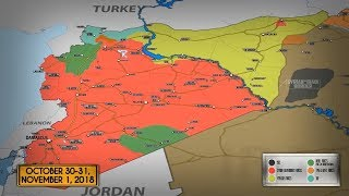 1 ноября 2018. Военная обстановка в Сирии. Россия поставила Сирии системы управления ПВО.