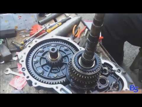 Замена и ремонт тяги кулисы коробки передач № 31 - YouTube