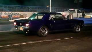 66 Mustang Inline 6 1/4 Mile -19.7 sec