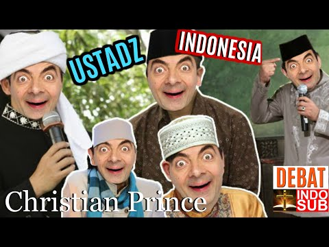When The Student Of Indonesian Ustadz Challenges Christian Prince (INDO SUB)