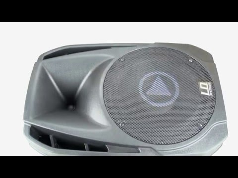 """LD Systems Play Series - 15"""" Active PA Speaker with MP3 Player"""