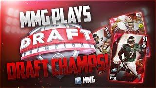 MMG Plays Draft Champions! BEAST Draft! Madden 16