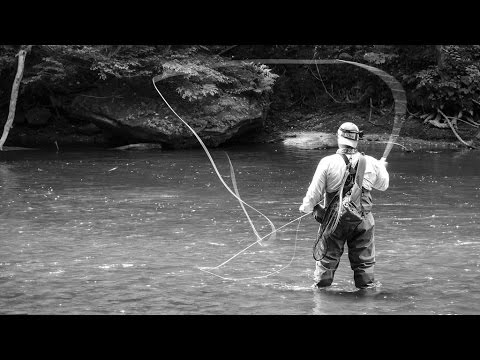 2 Trout One Cast- Fly Fishing Clear Fork River
