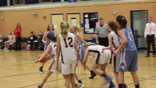 Oceanside at Medomak 7th grade girls basketball