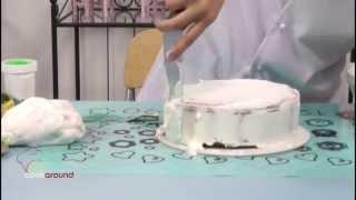 Rivestire una torta con pasta da zucchero: tutorial!