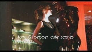 tony & pepper cute scenes