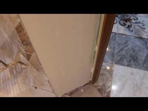 видео: Откос возле дверей своими руками