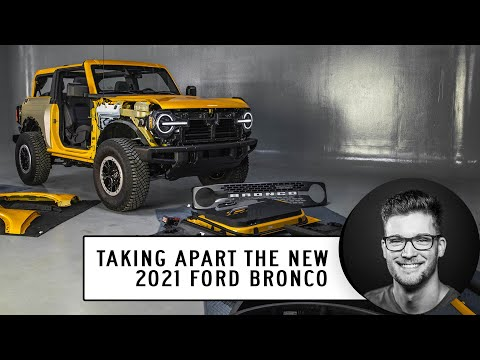 See How to Take Apart the Ford Bronco, and Other Cool Features