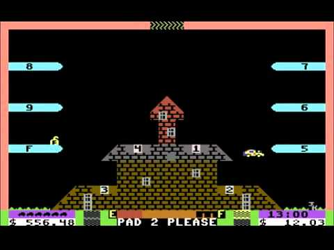C64 Longplay - Space Taxi