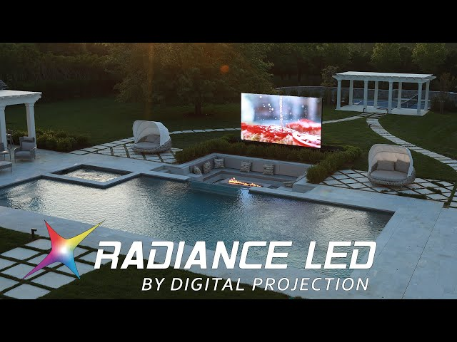 Radiance LED Video Wall Creates Dream Pool Space for Hamptons Home