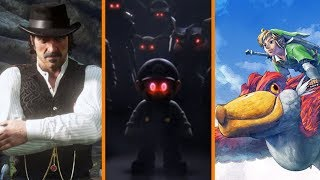 New Red Dead Online Details + Nintendo VS Smash Ultimate Leakers + Skyward Sword Coming to Switch?