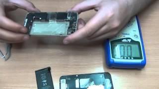 Смотреть видео уронил айфон 4с на пол теперь не включается