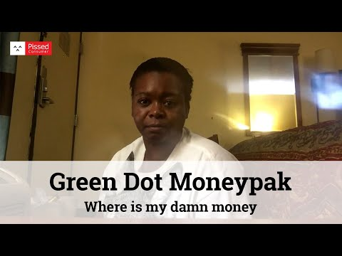 Green Dot Moneypak Reviews - Where Is My Damn Money @Pissed Consumer