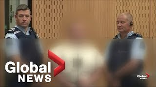 New Zealand shooting: Suspect in New Zealand mosque shootings makes court appearance