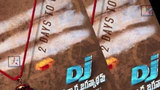 Duvvada Jaganaddam Motion Teaser || Filmystarss