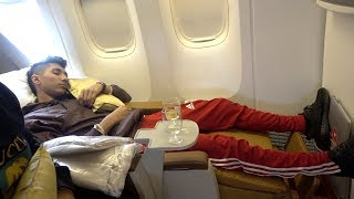 Review of AIR INDIA'S BUSINESS CLASS AIRPLANE SEAT | EXPECTED BETTER  ($5000)