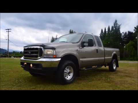 2002 FORD F350 XLT EXT CAB LONG BOX 4X4 7.3 DIESEL 1 OWNER