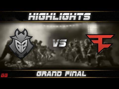 G2 Vs FaZe | R6 Pro League S8 Finals Highlights