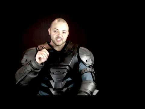 Batman vs Superman Dawn of Justice Foam Armor Costume build - Part 2