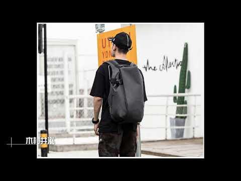 ㊣木村井泓 潮流造型立體防盜防水後背包 MY 筆電後背包 電腦後背包 雙肩包 學生包 尼龍 15.6吋(G0234)