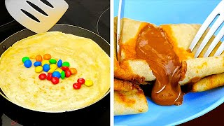 EASY WAYS TO MAKE YUMMY PANCAKES    5-Minute Recipes For Sweet Tooth!