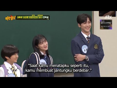 Knowing Brother Ep 212 Sub Indo - Kim Hye Yoon Ft Roowon